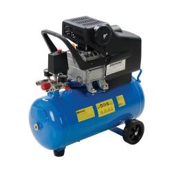 Compresor de aire 1500 W, 2 CV y 24 litros deposit