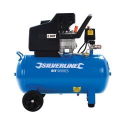 Compresor de aire 1500 W, 2 CV deposito 50 litros