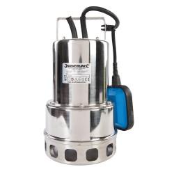 Bomba para aguas residuales de acero inoxidable 550 w. 10.500 l/h