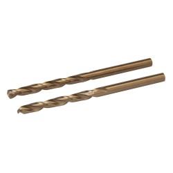 Brocas de cobalto, 2 pzas. de 5 mm.