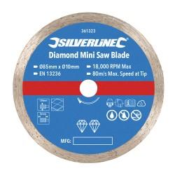 Disco de corte  85 mm. diamantado para mini sierra circular