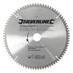 Disco WIDIA 250 mm. para aluminio, 80 dientes