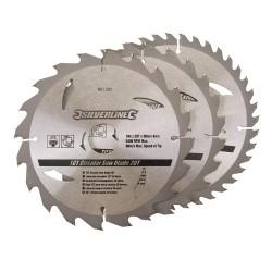 3 Discos WIDIA para sierra circular 20, 24, 40 dientes