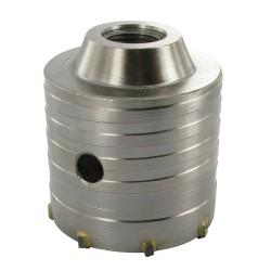 Corona perforadora de TCT 65 mm.