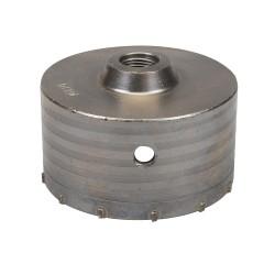 Corona perforadora de TCT 110 mm.