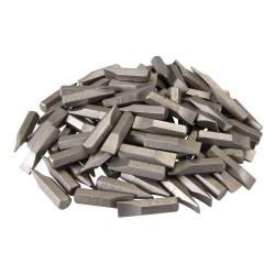 Puntas planas 7 mm. de cromo-vanadio, 100 pzas