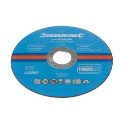 Discos 125 x 1 mm.para corte de acero inoxidable, 10 pzas