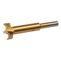 Broca Forstner 25 mm. con revestimiento de titanio