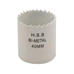 Corona perforadora bimetal 40 mm.