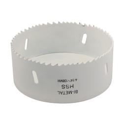 Corona perforadora bimetal 108 mm.