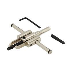 Cortador circular ajustable 30 - 120 mm