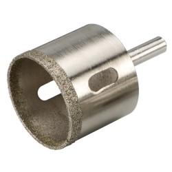 Corona perforadora diamantada de 27 mm.