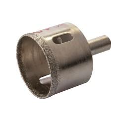 Corona perforadora diamantada de 40 mm.