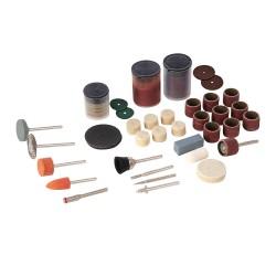 Accesorios variados para herramienta rotativa, 105 pzas