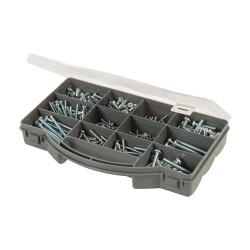 Juego de tornillos para metal 450 piezas