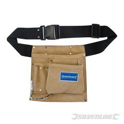 Cinturón portaherramientas y clavos con 5 bolsillos