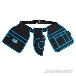 Cinturón portaherramientas con 15 bolsillos